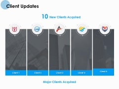 Client Updates Ppt PowerPoint Presentation Portfolio Examples