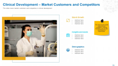 Clinical Development Market Customers And Competitors Ppt Model Designs PDF