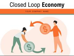 Closed Loop Economy Circular Economy Ppt PowerPoint Presentation Complete Deck