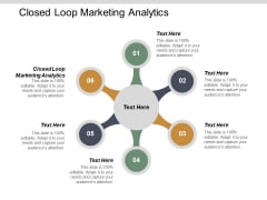 Closed Loop Marketing Analytics Ppt PowerPoint Presentation Model Portfolio Cpb