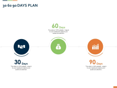 Closed Loop Supply Chain Management 30 60 90 Days Plan Ppt Show Graphic Images PDF