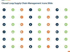 Closed Loop Supply Chain Management Icons Slide Ppt File Aids PDF
