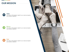 Closed Loop Supply Chain Management Our Mission Ppt Icon Professional PDF