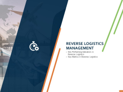 Closed Loop Supply Chain Management Reverse Logistics Management Ppt Portfolio Example File PDF