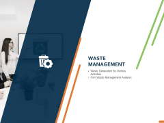 Closed Loop Supply Chain Management Waste Management Ppt Layouts Clipart Images PDF