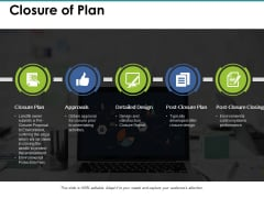 Closure Of Plan Ppt PowerPoint Presentation Summary Layouts