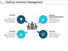 Clothing Inventory Management Ppt PowerPoint Presentation Model Clipart Images