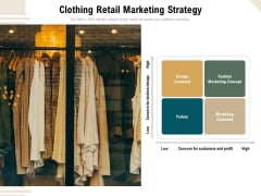 Clothing Retail Marketing Strategy Ppt PowerPoint Presentation Styles