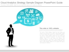 Cloud Analytics Strategy Sample Diagram Powerpoint Guide