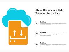 Cloud Backup And Data Transfer Vector Icon Ppt PowerPoint Presentation File Clipart Images PDF