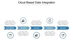 Cloud Based Data Integration Ppt PowerPoint Presentation Model Inspiration Cpb