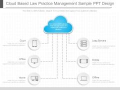 Cloud Based Law Practice Management Sample Ppt Design