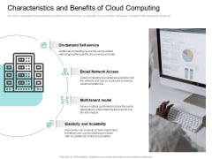 Cloud Based Marketing Characteristics And Benefits Of Cloud Computing Ppt PowerPoint Presentation Professional Layouts PDF