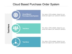 Cloud Based Purchase Order System Ppt PowerPoint Presentation Files Cpb