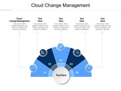 Cloud Change Management Ppt PowerPoint Presentation Inspiration Topics Cpb Pdf