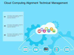 Cloud Computing Alignment Technical Management Ppt Powerpoint Presentation Visual Aids Background Images