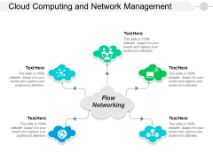 Cloud Computing And Network Management Ppt PowerPoint Presentation Styles Professional