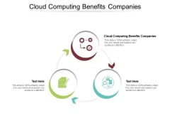 Cloud Computing Benefits Companies Ppt PowerPoint Presentation Model Guide Cpb Pdf