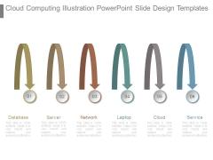 Cloud Computing Illustration Powerpoint Slide Design Templates