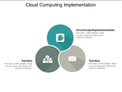 Cloud Computing Implementation Ppt PowerPoint Presentation Pictures Information Cpb