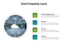 Cloud Computing Layers Ppt PowerPoint Presentation Professional Icons Cpb