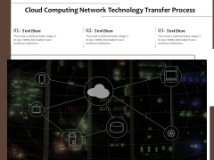 Cloud Computing Network Technology Transfer Process Ppt PowerPoint Presentation Outline Graphics Pictures PDF