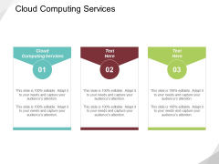 Cloud Computing Services Ppt PowerPoint Presentation Slide Download Cpb