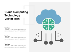 Cloud Computing Technology Vector Icon Ppt PowerPoint Presentation Gallery Ideas