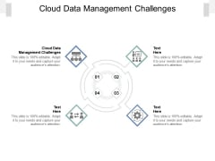 Cloud Data Management Challenges Ppt PowerPoint Presentation Layouts Icon Cpb Pdf