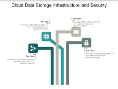 Cloud Data Storage Infrastructure And Security Ppt Powerpoint Presentation Model Show