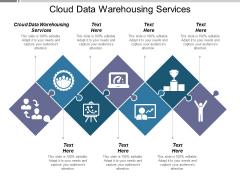 Cloud Data Warehousing Services Ppt PowerPoint Presentation Portfolio Layouts