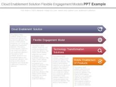 Cloud Enablement Solution Flexible Engagement Models Ppt Example