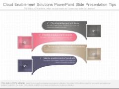 Cloud Enablement Solutions Powerpoint Slide Presentation Tips