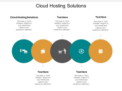 Cloud Hosting Solutions Ppt PowerPoint Presentation Slides Introduction Cpb