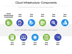 Cloud Infrastructure Components Ppt PowerPoint Presentation Infographics Show Cpb Pdf