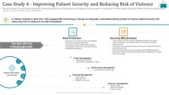 Cloud Intelligence Framework For Application Consumption Case Study 4 Improving Patient Security And Reducing Risk Of Violence Guidelines PDF
