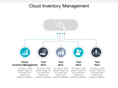 Cloud Inventory Management Ppt PowerPoint Presentation Infographic Template Show Cpb