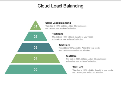 Cloud Load Balancing Ppt PowerPoint Presentation Layouts Samples Cpb