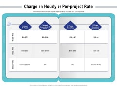 Cloud Managed Services Pricing Guide Charge An Hourly Or Per Project Rate Ppt Infographics Layouts PDF