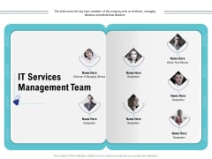 Cloud Managed Services Pricing Guide IT Services Management Team Ppt Model Graphics Download PDF