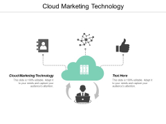 Cloud Marketing Technology Ppt PowerPoint Presentation Styles Format Cpb