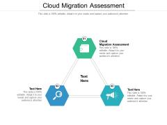 Cloud Migration Assessment Ppt PowerPoint Presentation Outline Brochure Cpb Pdf