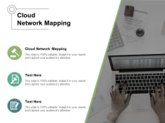 Cloud Network Mapping Ppt PowerPoint Presentation Inspiration Graphics Cpb