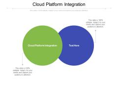 Cloud Platform Integration Ppt PowerPoint Presentation Visual Aids Styles Cpb Pdf