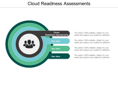 Cloud Readiness Assessments Ppt PowerPoint Presentation Icon Format Ideas Cpb