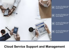 Cloud Service Support And Management Ppt Powerpoint Presentation Gallery Slide Portrait