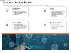 Cloud Services Best Practices Marketing Plan Agenda Colocation Services Benefits Topics PDF
