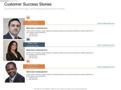 Cloud Services Best Practices Marketing Plan Agenda Customer Success Stories Themes PDF