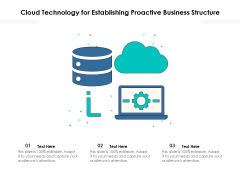 Cloud Technology For Establishing Proactive Business Structure Ppt PowerPoint Presentation Professional Picture PDF