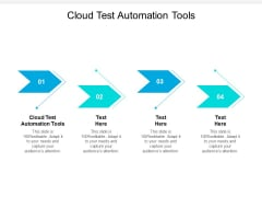 Cloud Test Automation Tool Ppt PowerPoint Presentation Portfolio Grid Cpb